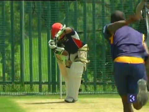 Top Billing bats with cricket star Temba Bavuma