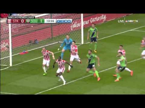 Video: Matchday 30: Stoke. v. Southampton