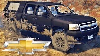 Chevrolet Silverado - Spin Tires
