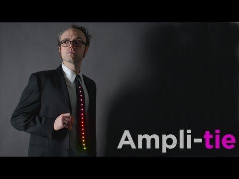 Die Krawatte mit LED-Anzeige