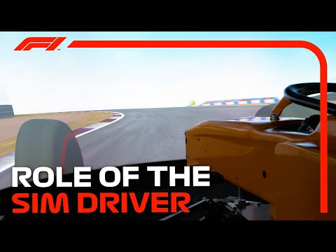 The Key Role Of The Sim Driver In F1