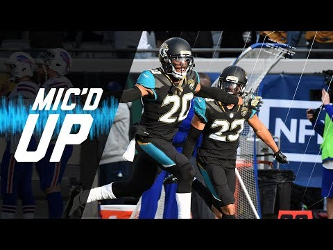Video: Bills vs. Jaguars Mic'd Up