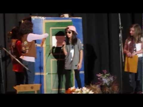 Award Winning Brownie talent show skit--GS Cookie Sale