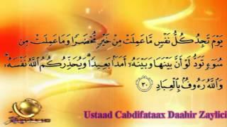 Beautiful Qur'an Recitation Suuratu Aali-Cimraan 15 - 51