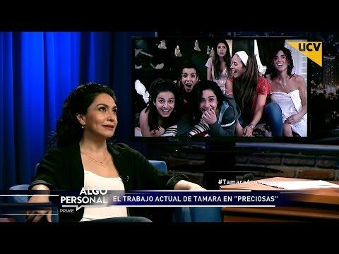 """video Tamara Acosta se refiere a su nuevo rol en la teleserie """"Preciosas"""""""