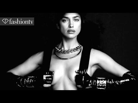 7 Hollywood Icons Fantasy Issue ft Irina Shayk, Behati Prinsloo, and Karl Lagerfeld   FashionTV