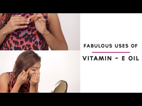 how to use vitamin e oil