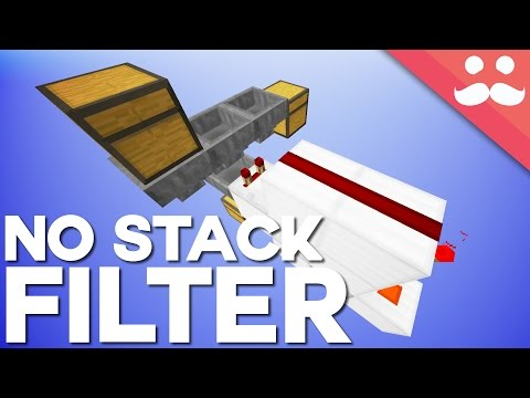 Minecraft: The Non-Stackable Item Filter [Day 7]