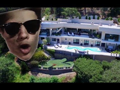 17 Year Old Nickelodeon Star Hollywood Mansion Tour | Jace Norman