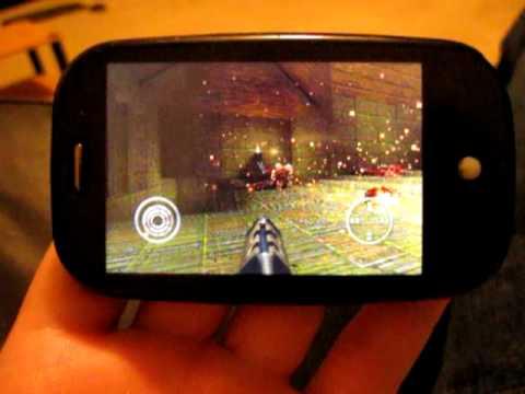 Palm OS 1GHz running Quake