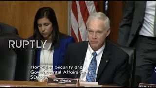 LIVE: US Senate to hold confirmation hearing for Trump's pick for homeland security secretary
