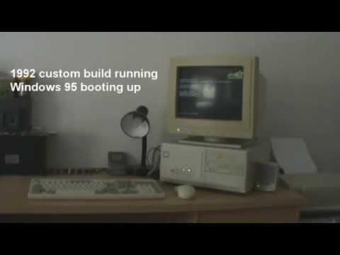 Windows 95 Açılışı ve Printer Sesi - 90'ların Sesleri