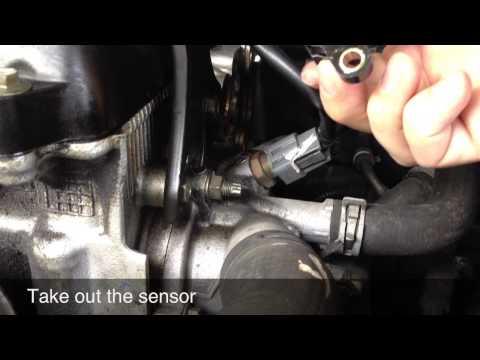 Camshaft Positioning Sensor Replacement – Nissan Altima – P0725 / P0335 – Save $$$, DIY.