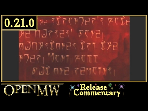 OpenMorrowind 0.21.0 Looks More like Vanilla Morrowind, Video Playback Added