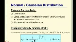 Mod-12 Lec-27 Review Of Probability Theory And Random Variables