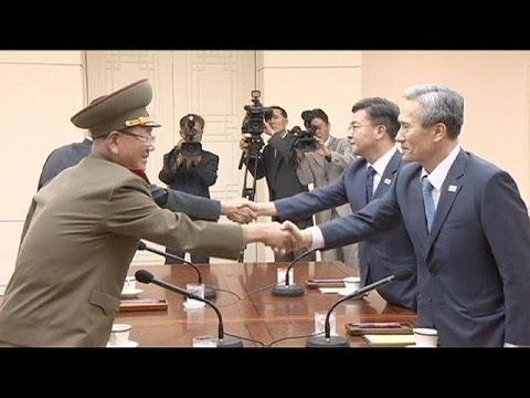 Συνομιλίες εν μέσω στρατιωτικών ασκήσεων μεταξύ Βόρειας και Νότιας Κορέας