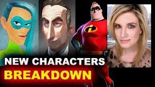 Video The Incredibles 2 NEW CHARACTERS - REACTION MP3, 3GP, MP4, WEBM, AVI, FLV Februari 2018