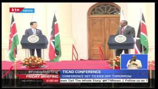 President Uhuru Kenyatta Receives Japan Prime Minister Shinzo Abe Ahead Of The TICAD 6 Conference