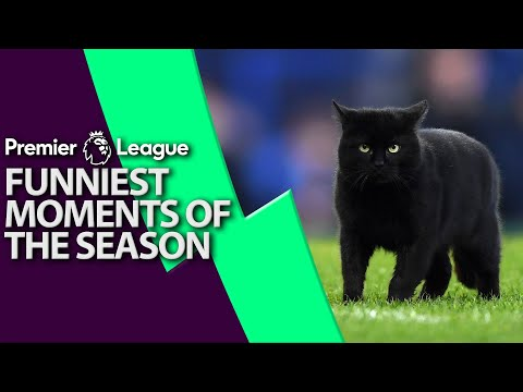 Funniest Moments From 2018-2019 Premier League Season | NBC Sports