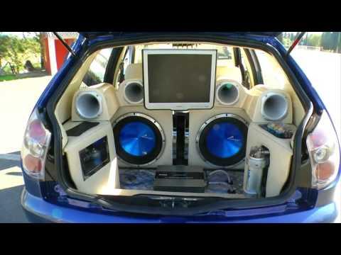 Fiat Palio tuneado al extremo