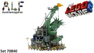 Video Lego Movie 2 70840 Welcome to Apocalypseburg! - Lego 70840 Speed Build MP3, 3GP, MP4, WEBM, AVI, FLV Januari 2019
