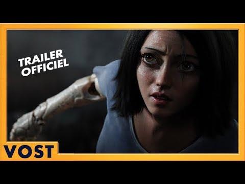 Alita : Battle Angel - Bande-annonce 1 VOST