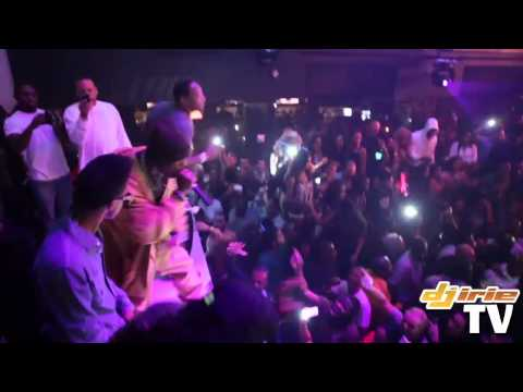 Lil Wayne shows love for DMX at LIV Nightclub. Then DMX performs LIVE!