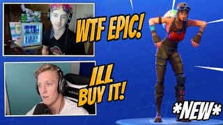 FORTNITE STREAMERS REACT TO NEW ITEM SHOP