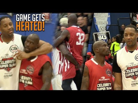 Tracy McGrady & Chad Ochocinco Celeb Game GETS HEATED AF! (видео)