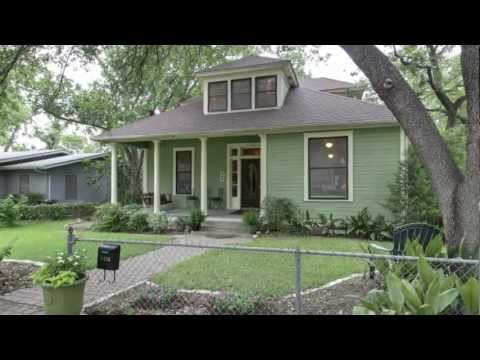 The Tew House: Renovated 100 Year old Austin House for Sale