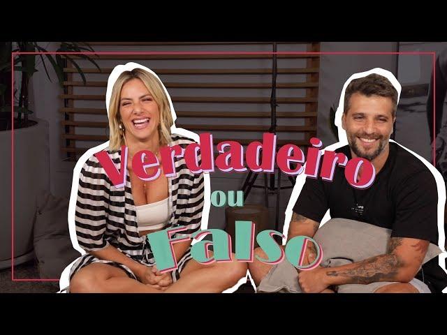 BRUNO GAGLIASSO ESCLARECE FOFOCAS | GIOH - Giovanna Ewbank