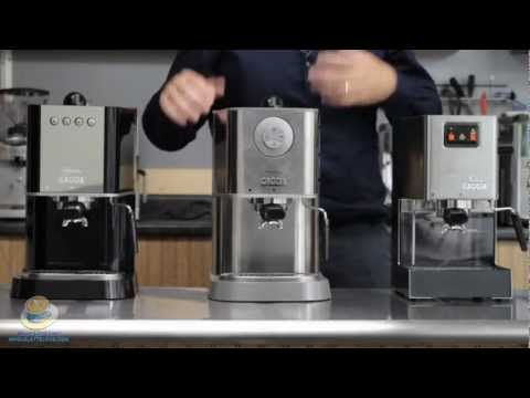 Comparing the Gaggia Classic, Baby Class & New Baby