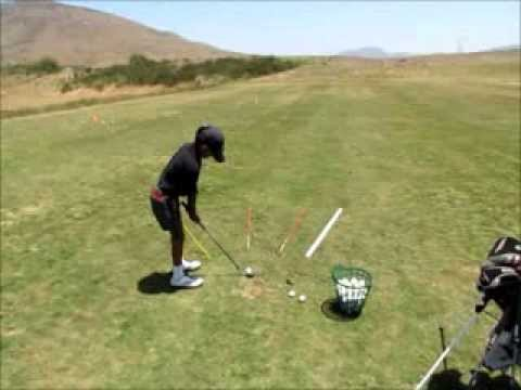 Chipping Drill for Junior Golfers
