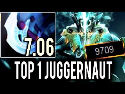 WTF! Machine Gun Arcana Ninja Top 1 Juggernaut by Paparazi 10k MMR COMING! Perfect Game 7.06 Dota 2