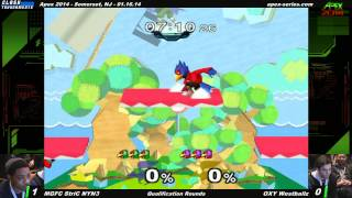 One of the fastest-paced sets at APEX 2014
