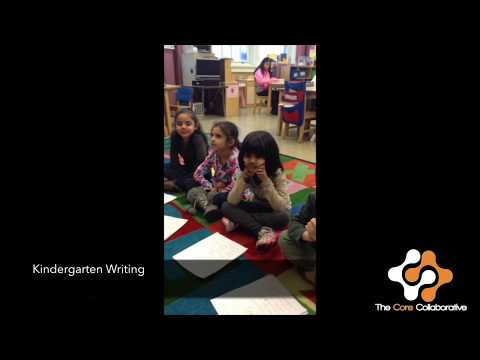Kindergarten Writing-Self and Peer Assmt