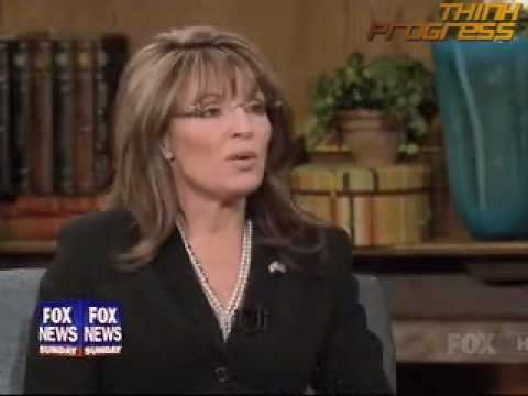 Palin recommends launching war with Iran
