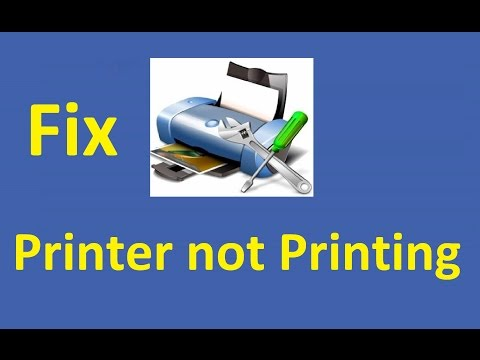 printer not printing! Fix - Howtosolveit