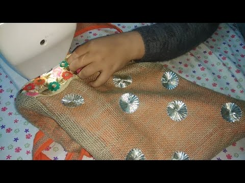 Diy Handbag/Tote Bag | Make Beautiful Fabric Handbag At Home