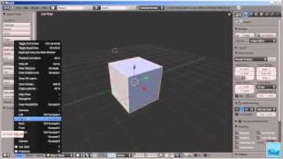 3D моделирование. Blender. Урок 1. Часть 1