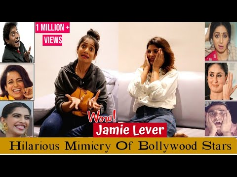 Hilarious Mimicry Of Bollywood Stars By Johnny Lever's Daughter JAMIE LEVER   Best Comedy Ever