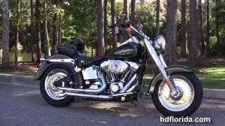6. Used 2006 Harley Davidson FatBoy Motorcycles for sale Georgia
