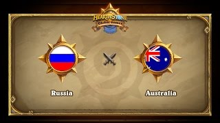 RUS vs AUS, game 1