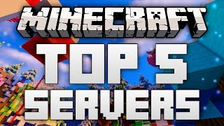 The Top 5 Minecraft Servers in my opinion for Minecraft 1.12, 1.11.2 and 1.10.2 in 2017! Servers names and IPs below. Don't forget to share your favorites Minecraft Servers in the comment section :)► Be sure to support the video with a like if you enjoyed it!► Subscribe for more Minecraft Top 10s and Top 5s!Server names and IPs:5. ShotbowEurope: EU.SHOTBOW.NETNorth America: US.SHOTBOW.NET 4. MCGamerPLAY.MCGAMER.NET3. EpiCubePLAY.EPICUBE.FR2. MineplexEurope: EU.MINEPLEX.COMNorth America: US.MINEPLEX.COM1. HypixelMC.HYPIXEL.NETShaders Mod used in this video: http://minecraftfive.com/sildurs-shaders-mod/Resource Pack used in this video: http://minecraftfive.com/faithful-64x64-resource-pack/Music: Approaching Nirvanahttps://www.youtube.com/user/ApproachingNirvana--Thanks for watching this Top 5 Servers for Minecraft 1.11 and 1.10.2 in 2016!