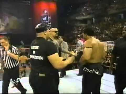 WWF Raw is War, 30th March 1998. Nation of Domination segment