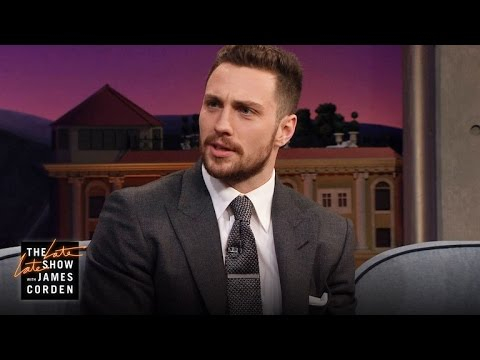 Aaron Taylor-Johnson's Perfect Tom Ford Impression