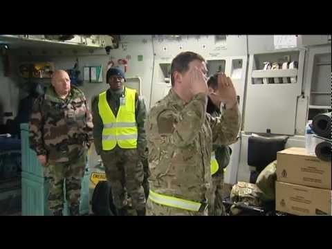 British military's Mali support mission 21.01.13
