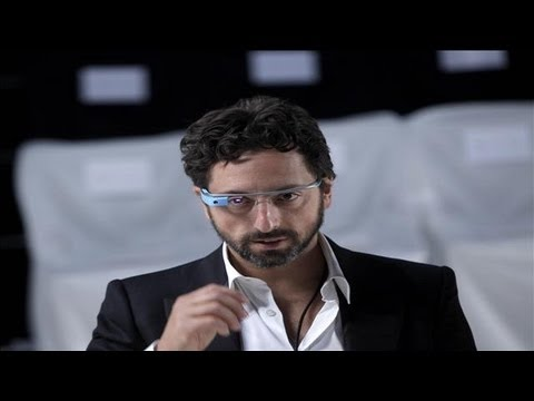 Sergey Brin Shows Off Google Glasses and the 360 Degree Panorama Feature