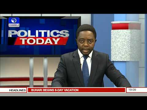 Politics Today: Saraki Reacts To Supreme Court Judgement -- 05/02/16 Pt. 1