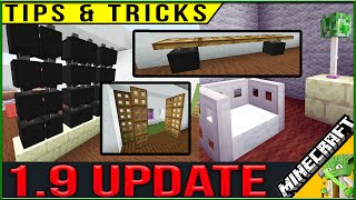 Minecraft 1.9 New Building Tips and Ideas